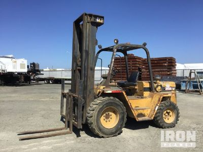Cat RC60 Rough Terrain Forklift