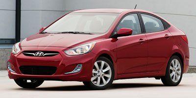 2013 Hyundai Accent GLS (Boston Red)