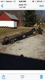 Spitzer dragster w/carbon fiber body