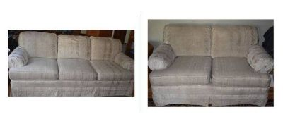 Couch and Love Seat Sofa Set