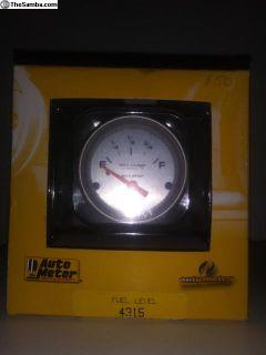 Auto meter fuel gauge NEW