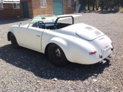 Affordable Porsche Speedster replica - no engine