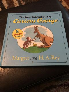 The new adventures of Curious George Hardback book $4