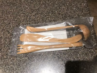 Pampered chef bamboo little utensils