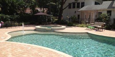 Beautiful Custom Swimming Pool Design Bonita Springs| Contemporary Pools