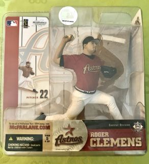 McFarlane MLB Series 10 Roger Clemens Houston Astros Collectible Action Figure
