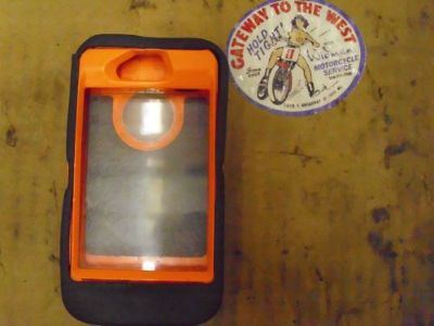 Purchase I PHONE IV, OTTER BOX, ORANGE/CAMO, CASE/COVER.# motorcycle in Saint Louis, Missouri, United States, for US $7.77