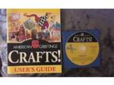 American Greetings Crafts CD-ROM EUC Disc and User's Guide