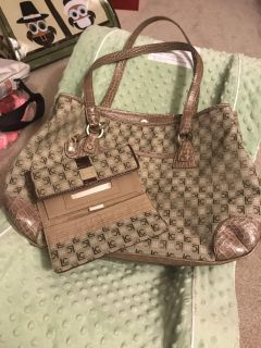 Nice Bag with wallet hardly used.