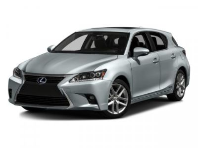 2016 Lexus CT 200h Base (Silver)