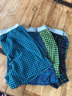Boys large boxers lot