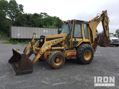 Cat 446 4x4 Backhoe Loader