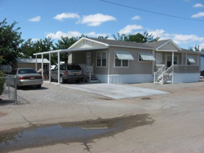 Manufactured Home on a leased lot-in White Sands Community park, space #1019, Alamogordo NM