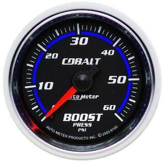 "Buy Auto Meter 6105 Cobalt 2 1/16"" Mechanical Boost Gauge 0-60 PSI motorcycle in Greenville, Wisconsin, US, for US $88.69"