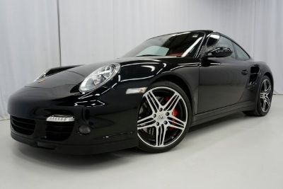 2008 Porsche 911 Turbo (Basalt Black Metallic)