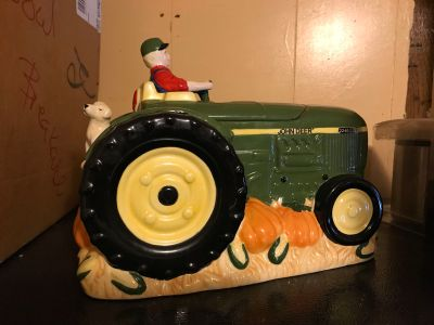 John Deere Cookie Jar No cracks Like New