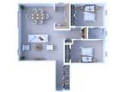 Times Square Apartments - Two BR Floor Plan B3