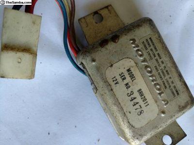Motorola voltage regulator
