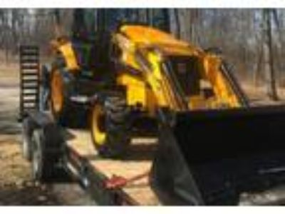2009 JCB Midi-CX-Loader-Backhoe-Combination Equipment in Chicago, IL
