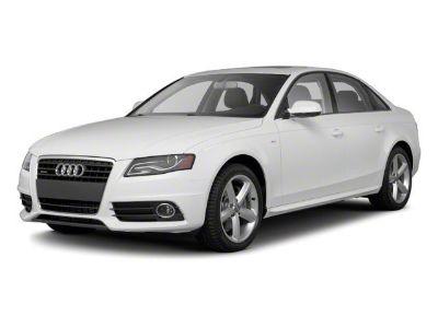 2012 Audi A4 2.0T quattro Premium Plus (Black)