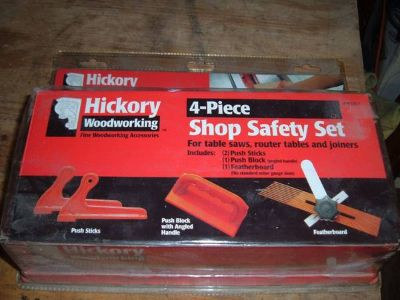 Never Used Woodwoking Shop Safety Set