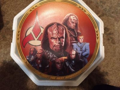 Star Trek Collectable Plate