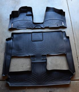 New Weathertech mats Chrysler Town country complete set