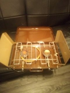 Buddy L dual camp stove like new