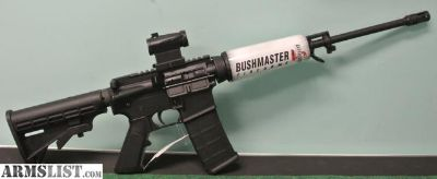 For Sale: Bushmaster AR15 Q.R.C. M4 w/Optics