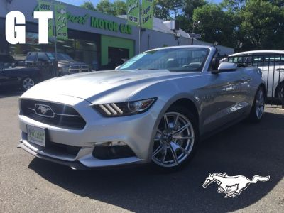 2015 Ford Mustang 2dr Conv GT Premium 50TH YEAR (Ingot Silver Metallic)