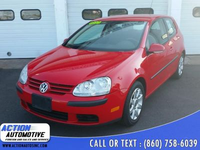 2007 Volkswagen Rabbit PZEV (Tornado Red)