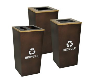 Recycling Bins For Upscale Settings