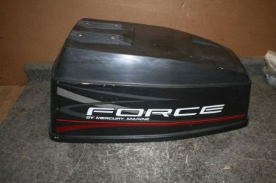 Sell USED 50 HP FORCE 2 CYLINDER OUTBOARD COWLING HOOD motorcycle in Scottsville, Kentucky, United States, for US $79.00