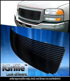 Sell Fits 2003-2007 GMC Sierra 1500/2500HD/3500 Black Stainless Steel Billet Grille motorcycle in Ontario, California, United States