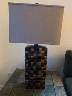 Coffe/End table combo w/lamps