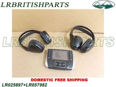 Sell LAND ROVER REMOTE CONTROL SYSTEM 2 HEADPHONE ESPORT EVOQUE LR025897+LR057982 motorcycle in Miami, Florida, United States, for US $950.00