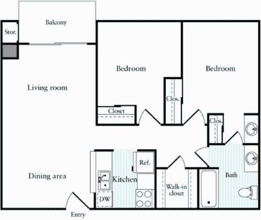 2 bedroom in Emeryville