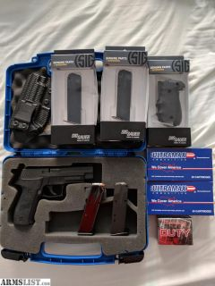 For Sale/Trade: P226r .357 Sig