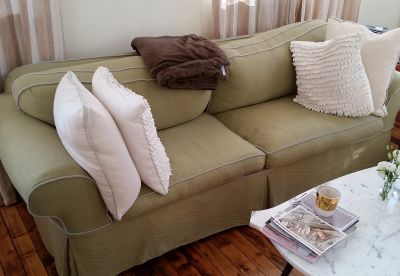 Custom Upholstered Sleeper Sofa (Queen)