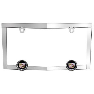 Purchase Cruiser 10330 License Plate Frame Cadillac Logo Chrome motorcycle in Suitland, Maryland, US, for US $32.83