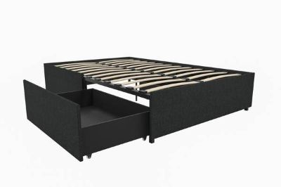 Full Size Platform Bed With Storage - New!