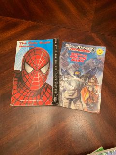Comic chapter books