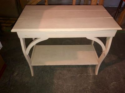 Side or entry table wood