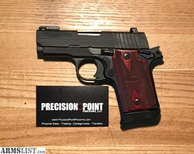 For Sale: Sig Sauer P938 9mm Rosewood