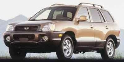 2001 Hyundai Santa Fe GL (Silver)