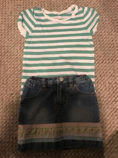 Cute summer outfit size 4