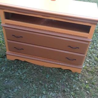 Repurposed Dresser That Is A TV STAND