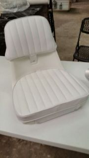 Sell Moeller Molded Boat Seat Chair Package Cushions Mounting Plate & Pedestal Base motorcycle in Spring Hill, Florida, United States, for US $179.95