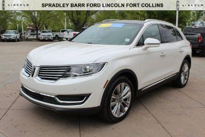 2016 Lincoln MKX Reserve (White Platinum)